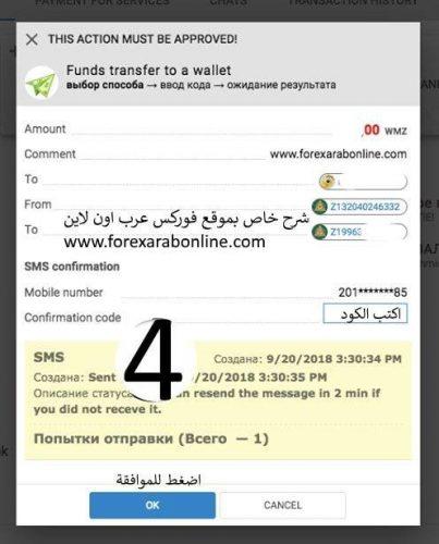 تحويل الاموال فى بنك ويب موني