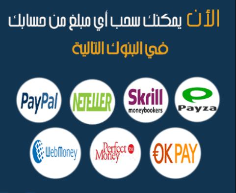 اسماء الوسطاء المعتمدين فى البنوك الالكترونية » فوركس عرب ...