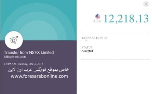 مصداقية شركة NSFX
