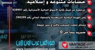 ترخيص شركة VantageFX